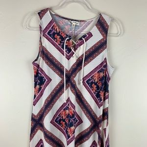 About a girl, large summer dress
